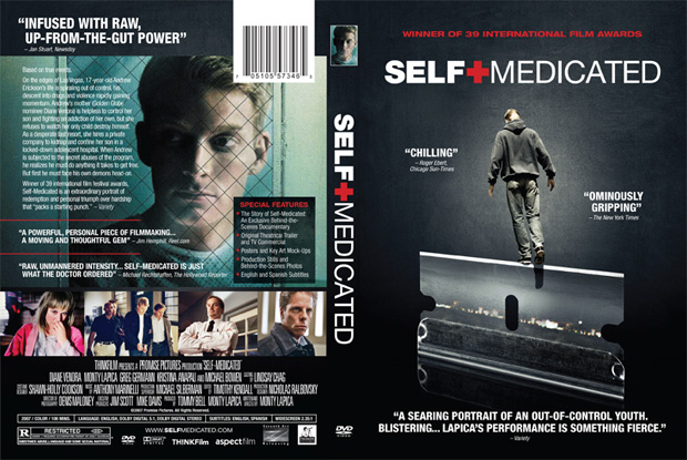 Self-Medicated DVD Art