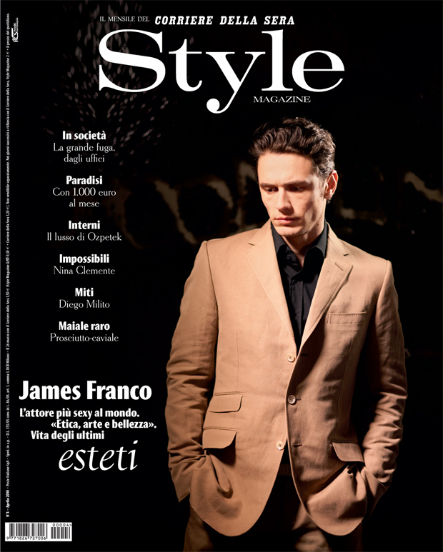 James Franco | Style Italia