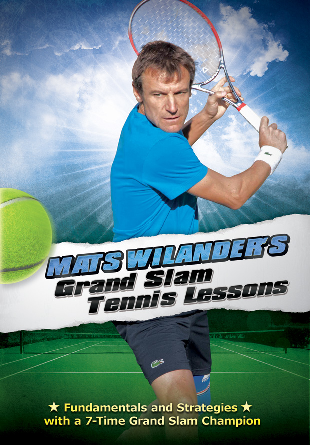 Mats Wilander's Grand Slam Tennis Lessons DVD Art